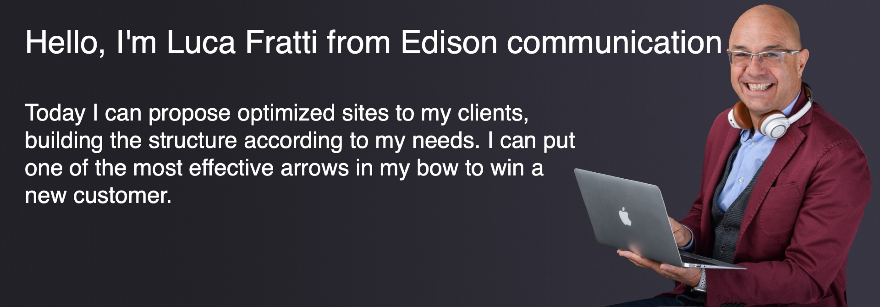 Luca Fratti - Edison communication, Italy